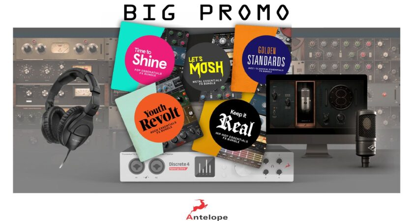 ANTELOPE AUDIO: Big Promo