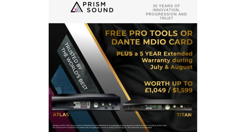 PRISM SOUND PROMO