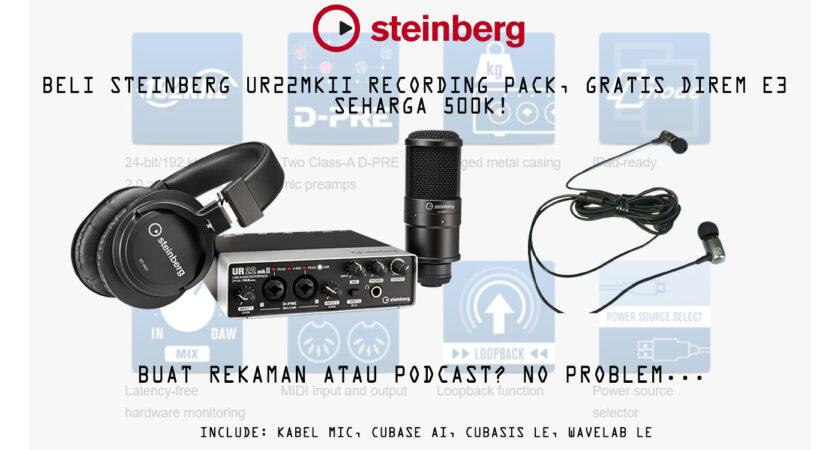 STEINBERG PROMO: UR22mkII Recording Pack